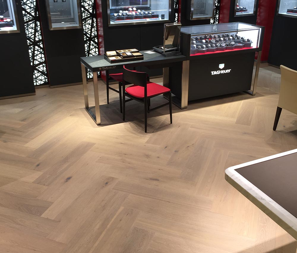 Innovative Floors' clients include Watches of Switzerland